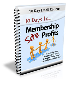 10 Days To Membership Sites Profits
