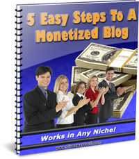 5 Easy Steps To A monotized Blog