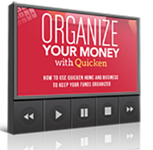 Organize Your Money With Quicken – Advanced