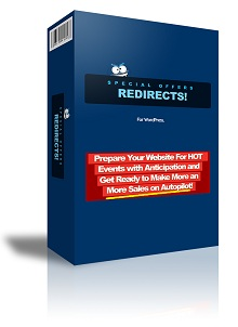 Special Offers Redirects PRO WordPress Plugin