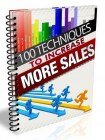100 Ways to Increase More Sales For Your Business