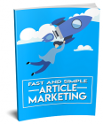 Fast And Simple Article Marketing