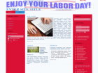 Labor Day Website Templates