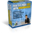 Mini-Site Made Easy With Dreamweaver