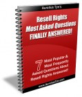 Resell Rights Most Asked Question Finally Answered