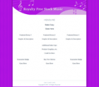 Royalty Free Stock Music Salespage Template