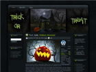Wordpress Theme Halloween 3